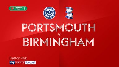 Portsmouth 3-0 Birmingham