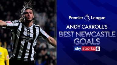 Andy Carroll's best Newcastle goals