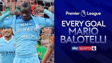Every Mario Balotelli Goal