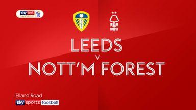 Leeds 1-1 Nott'm Forest