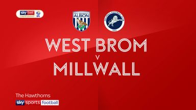 West Brom 1-1 Millwall