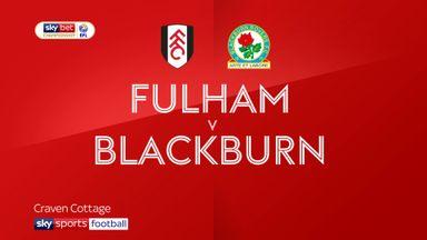 Fulham 2-0 Blackburn