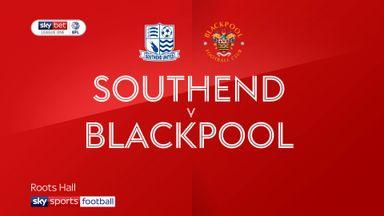 Southend 1-3 Blackpool