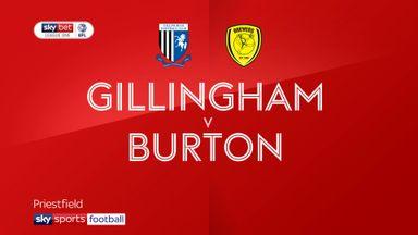 Gillingham 1-2 Burton