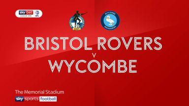 Bristol Rovers 0-0 Wycombe
