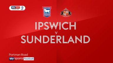 Ipswich 1-1 Sunderland