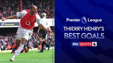 Henry's best Premier League goals