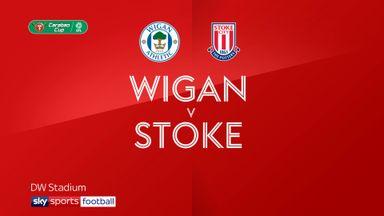 Wigan 0-1 Stoke