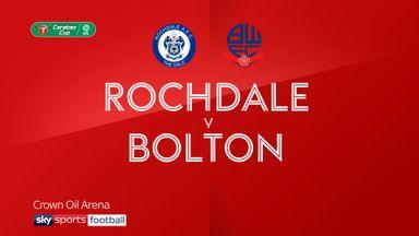 Rochdale 5-2 Bolton
