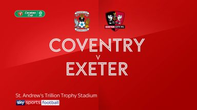 Coventry 4-1 Exeter