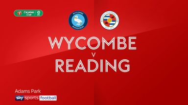 Wycombe 1-1 Reading (2-4 pens)