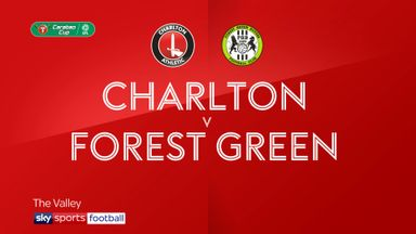 Charlton 0-0 Forest Green (3-5 pens)