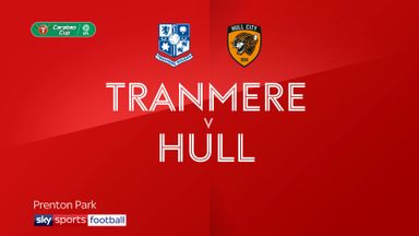 Tranmere 0-3 Hull