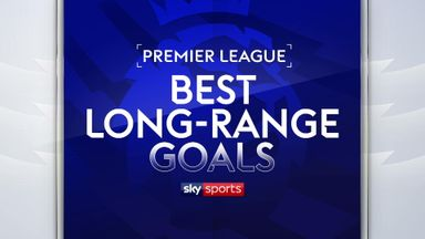 Best Premier League long-range goals