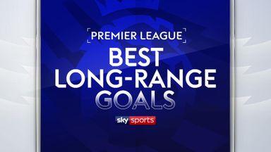 Best Premier League long-range goals