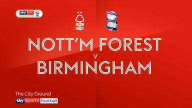 Nottingham Forest 3-0 Birmingham