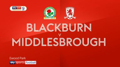 Blackburn 1-0 Middlesbrough
