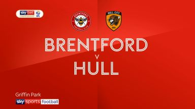 Brentford 1-1 Hull