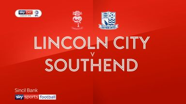 Lincoln City 4-0 Southend