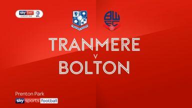Tranmere 5-0 Bolton