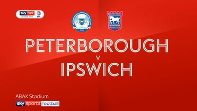 Peterborough 2-2 Ipswich
