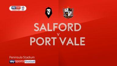 Salford 1-1 Port Vale