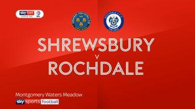 Shrewsbury 0-0 Rochdale