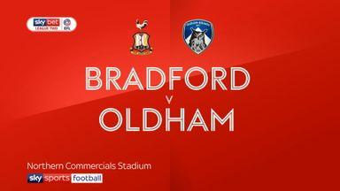 Bradford 3-0 Oldham