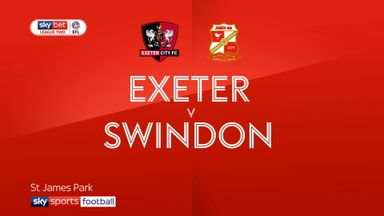 Exeter 1-1 Swindon
