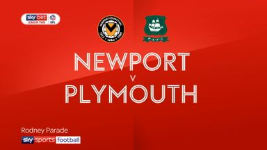 Newport 1-0 Plymouth