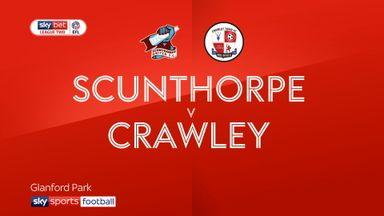 Scunthorpe 2-2 Crawley