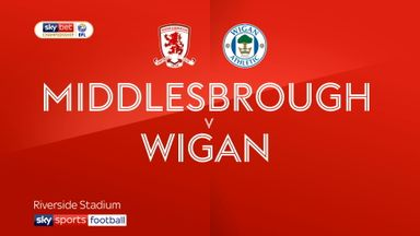 Middlesbrough 1-0 Wigan