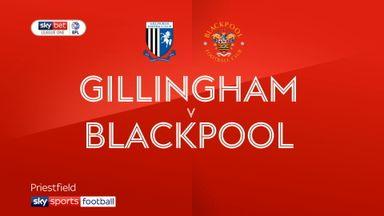 Gillingham 2-2 Blackpool