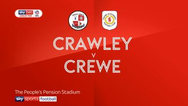 Crawley 1-2 Crewe