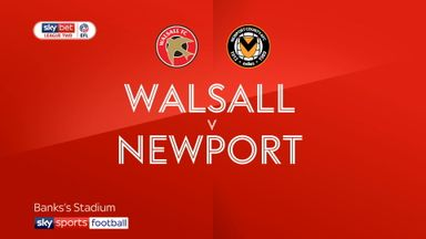Walsall 0-0 Newport