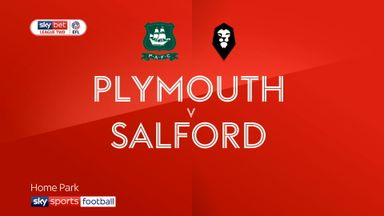Plymouth 2-2 Salford