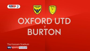 Oxford Utd 2-4 Burton