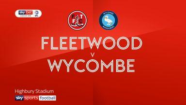 Fleetwood 1-1 Wycombe