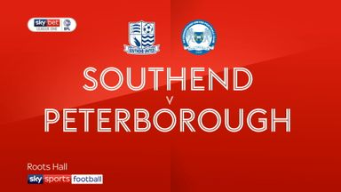 Southend 0-2 Peterborough