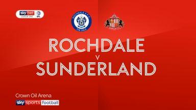 Rochdale 1-2 Sunderland