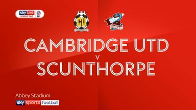 Cambridge 3-2 Scunthorpe