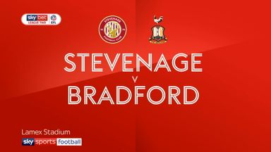 Stevenage 0-1 Bradford