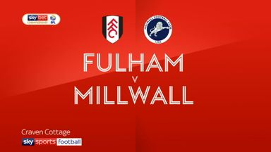 Fulham 4-0 Millwall