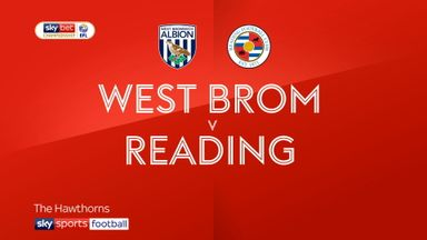 West Brom 1-1 Reading