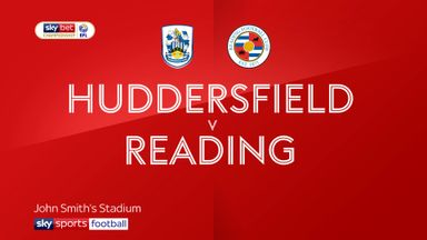 Huddersfield 0-2 Reading