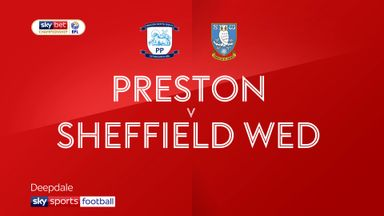 Preston 2-1 Sheffield Wednesday