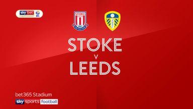 Stoke 0-3 Leeds