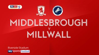 Middlesbrough 1-1 Millwall