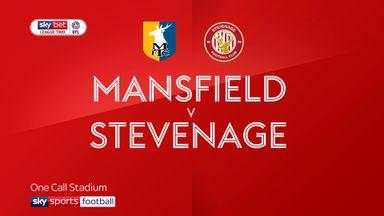 Mansfield 0-0 Stevenage