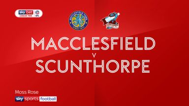 Macclesfield 1-0 Scunthorpe